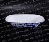 Vaisselle/Bakeware/plateau de plaque de /Pie d'assiette beurre d'émail