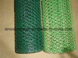 Engranzamento de fio sextavado revestido do PVC de Sailin