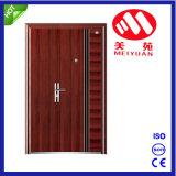 Дверь входа утюга входной двери обеспеченностью стальная нештатная