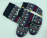 Le signore delle donne hanno lavorato a maglia i pistoni dell'interno caldi