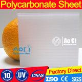 Hoja de la depresión del policarbonato de las costillas para el vario invernadero