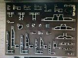 Bandiera di alluminio della visualizzazione del blocco per grafici del tessuto facile del cambiamento (SS-FB-31)