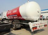 HOWO 10mt 6X4 24.8cbmのガスの分布のトラック