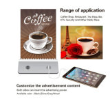 Menu Display 4USB 10000mAh Chargeur de batterie Power Bank for Restaurant Cafe