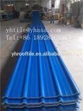 Telha de telhado do PVC da resistência de corrosão