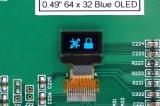 """0.49 """" Blauwe Vertoning 64*32 OLED van de Kleur 14pins voor Ukey"""
