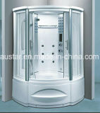 1230mm sector sauna de vapor con jacuzzi y ducha (AT-G8208F)