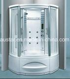 ジャクージおよびシャワー(AT-G8208F)との1230mmのセクターの蒸気のサウナ