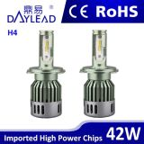 Водоустойчивое 48W 4800lm H4 Ledheadlight с лучем Hi/Lo