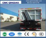 Cimc 3 옆 덤프 적재용 트럭 포좌를 가진 반 차축 35cbm 덤프 트레일러 덤프 트럭 팁 주는 사람