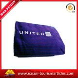 Дешевое голубое одеяло логоса вышивки
