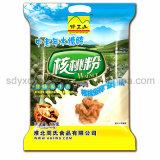 Papier d'aluminium personnalisé de la catégorie comestible 3-Side scellant le sac d'empaquetage en plastique pour le journal de nourriture de Sanck