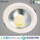 Saso LED 반점 Downlight 옥수수 속 5W 7W 9W 12W 20W 30W
