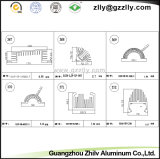 Professional de piezas de fundición de aluminio fundido disipadores térmicos.