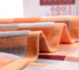 Baumwollweiches Streifen-Gesichts-Tuch-Handtuch 100%