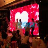 Pantalla de visualización de alta resolución de interior de LED del vídeo del alquiler P5