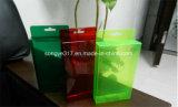 Caixa de embalagem de dobramento plástica do PVC