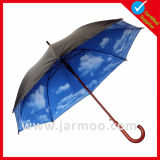 美しいギフトの傘を広告する習慣