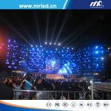 2017 schermo della fase di Shenzhen P10.4mm LED - visualizzazione dell'interno del setaccio a maglie del LED