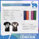 T-shirt de gros troupeau en vinyle de transfert de chaleur pour les textiles