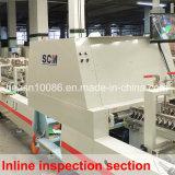De Inspectie die van af:drukken en Machine (wo-750pc-r-i/wo-1050pc-r-I) lijmen vouwen