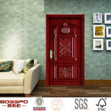 Luxuriöse Art-Landhaus-Tür geschnitzte festes Holz-Türen (GSP2-005)