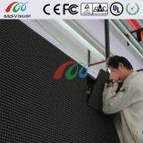 광고를 위한 옥외 정면 접근 발광 다이오드 표시 표시
