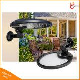 56LED 500lumensの長円の庭の機密保護の屋外の通りの壁のための太陽通りPIRの動きセンサーランプ
