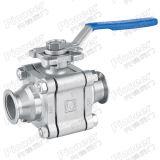 ISO-Kf alto vacío la válvula de bola rápida operación
