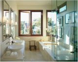 Doppio caldo domestico Windows di alluminio di vetro di vendita