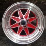 Borda colorida 15 da roda da liga do carro do mercado de acessórios F71270 '