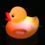 Gelbe Ente kundenspezifisches Firmenzeichen-Gummiblinkensled (3561)