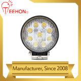 Luz del trabajo de Epistar 27W LED de la oferta de la fábrica para los alimentadores