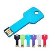 Lecteur flash USB principal de coutume d'entraînement de crayon lecteur de forme en métal