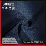 Super Soft 16s Terry Denim Fabric avec High Elastic