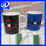 Impression logo bon marché sensible à la chaleur Mug de changement de couleur