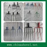 Fork diferentes tipos de acero al carbono Jardín Forks