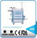 ABS van de Apparatuur van het ziekenhuis het Karretje van de Geneeskunde