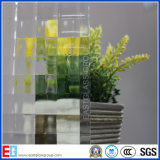 Clear May Flower Pattern Vidro / Rolled Glass / Figured Glass / Decrotive Glass (Flora)