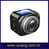 Фабрика самое последнее 12MP/360vr делает камеру водостотьким действия спортов спорта DV 1440p/30fps с дистанционным управлением WiFi Watech 220 Ультра-Широкой градусов видеокамеры Wireles объектива