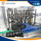 Máquina de enchimento enlatada automática da água