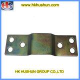 Мебельная фурнитура фитинги, Colored-Plating шарнир для кровати (HS-FS-010)