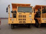 Carro de vaciado de la explotación minera de Sinotruk HOWO 70ton 6*4