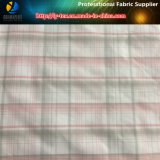 Tela teñida hilado de nylon de la verificación, tela de nylon de Shirting, Handfeeling suave