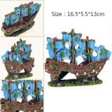 Nave retra de la decoración del acuario para los ornamentos de la resina del tanque de pescados