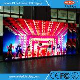 Alquiler P4 color de interior Pantalla LED para estadio