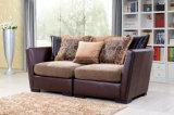 2018년 거실 골동 가구 직물 구석 소파 Couchs