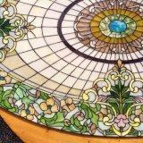 De Hand van het Decor van de Structuur van Morden - gemaakte Halve Ronde het Leven van het Gebrandschilderd glas Koepel