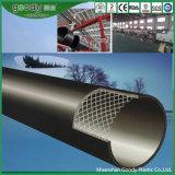 Tubo d'acciaio rivestito di rinforzo del PE di plastica composito del tubo del PE del filo di acciaio
