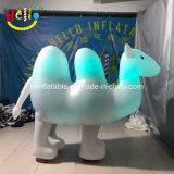Animal chameau géant gonflable lumineux